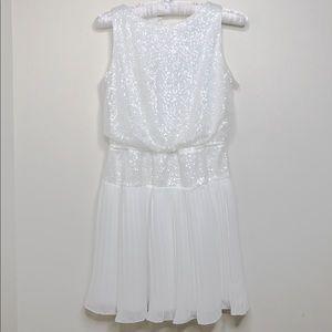 David Charles Girl's sequins Pleated dress sz.12